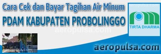 Cara cek dan bayar tagihan rekening PDAM Kabupaten Probolinggo