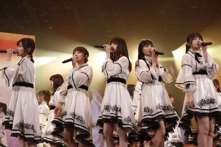 penampilan Nogizaka46 di Taipei Arena