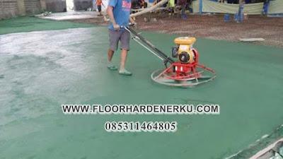 Daftar Harga Jasa Trowel Floor Hardener Natural + Material