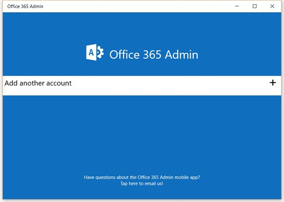 Lets exchange office 365 admin app for windows 10 - Can i check my post office account online ...