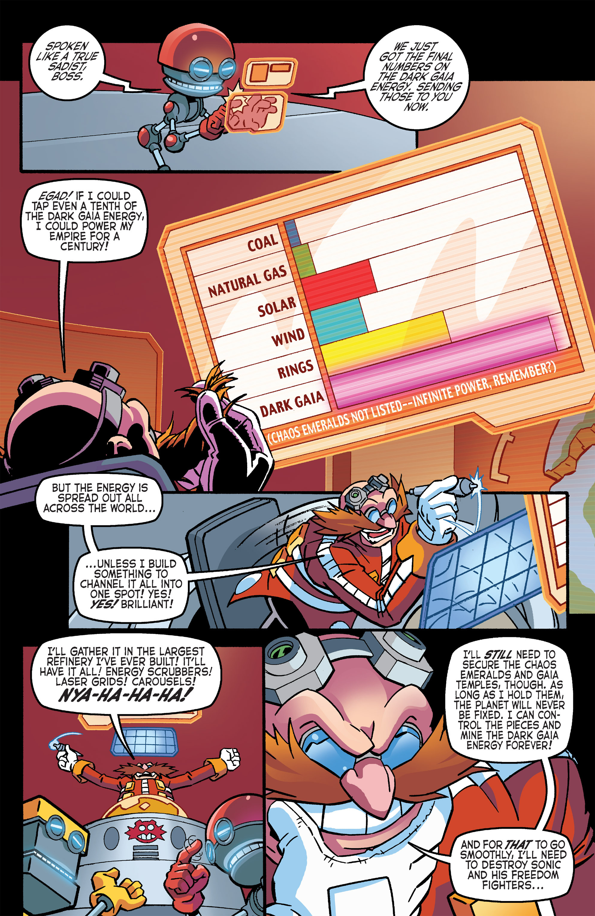 Read online Sonic The Hedgehog comic -  Issue #266 - 9