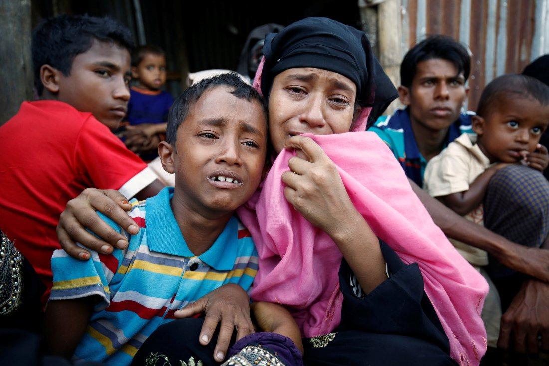 Kisah Pilu Wanita Rohingya Melarikan Diri dari Kekejaman Militer Myanmar