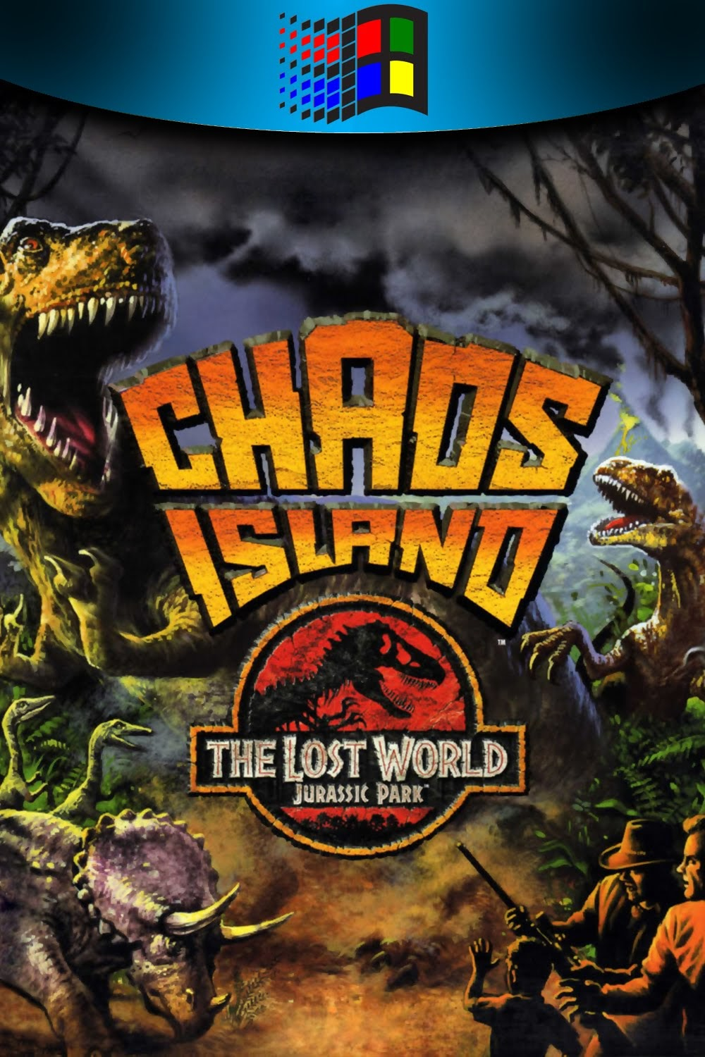 The Collection Chamber Chaos Island The Lost World Jurassic Park