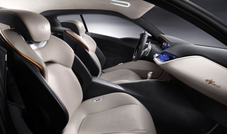 2017 Maserati Alfieri Interior