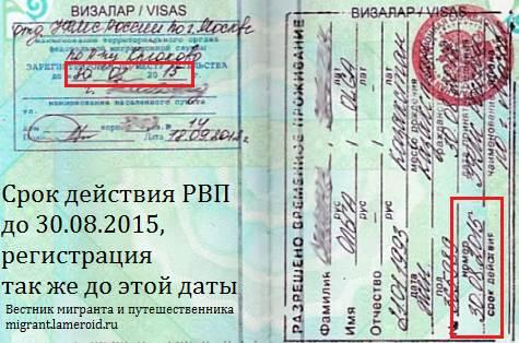 А это регистрация по месту жительства. Давайте именно её будем называть регистрацией.