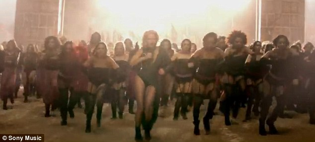 porslend: Beyonce revamps the Riverdance in spectacular new