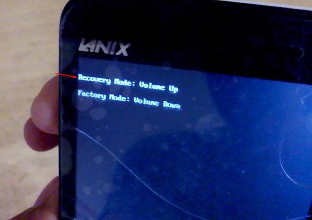 resetear Lanix ILIUM S500