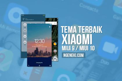 Tema Xiaomi MIUI 9 / MIUI 10 Terbaik, Keren, dan Tembus Semua Aplikasi