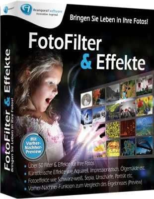 Avanquest InPixio Photo Filters & Effects 5.02.24567 poster box cover