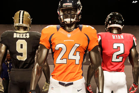 Broncos Blog: Denver Broncos new Uniforms  supplier