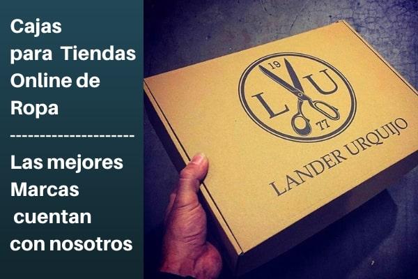 cajas personalizadas para tiendas online de ropa