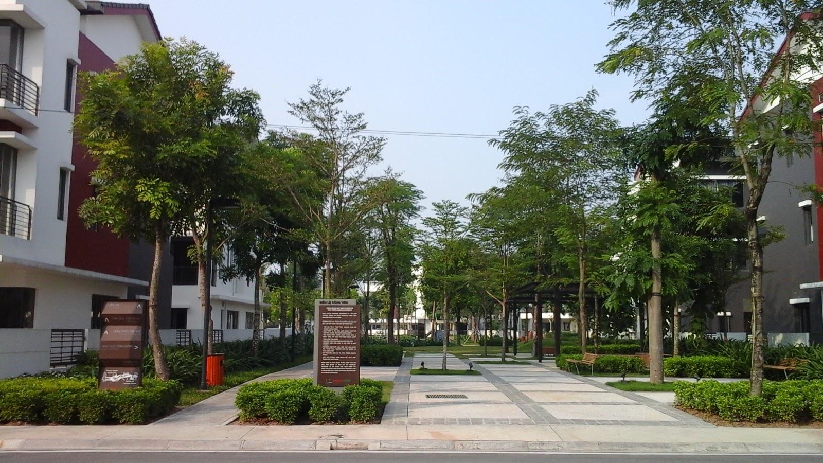 Một góc Gamuda Gardens.