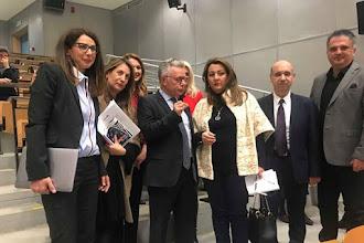 Η Μαρία Αντωνίου στην Ελληνο-γαλλική συνάντηση στο Τ.Ε.Ι.