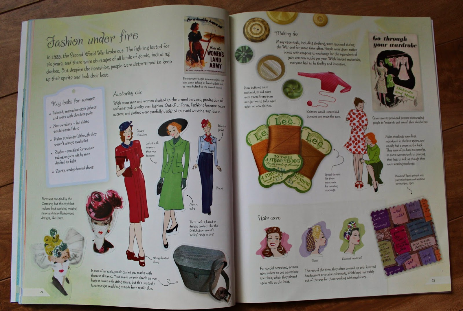 Historical Fashion Sticker Books Book Sharing Monday