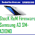 StocK RoM Firmware Samsung A3 SM-A310N0