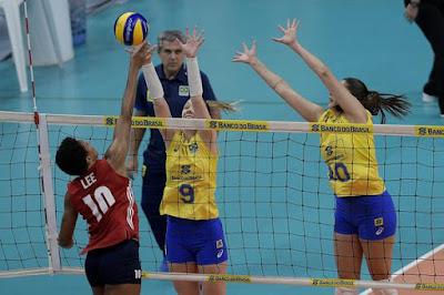 seleção brasileira vôlei feminino Maracanãzinho