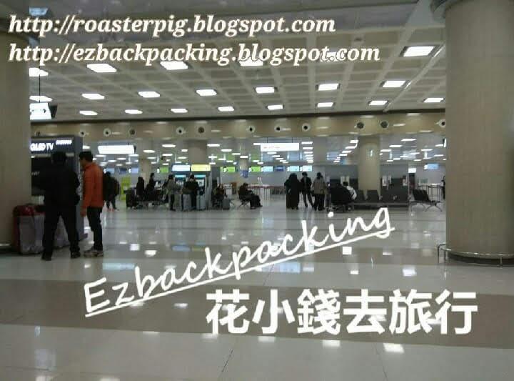 濟州機場國內線清晨環境