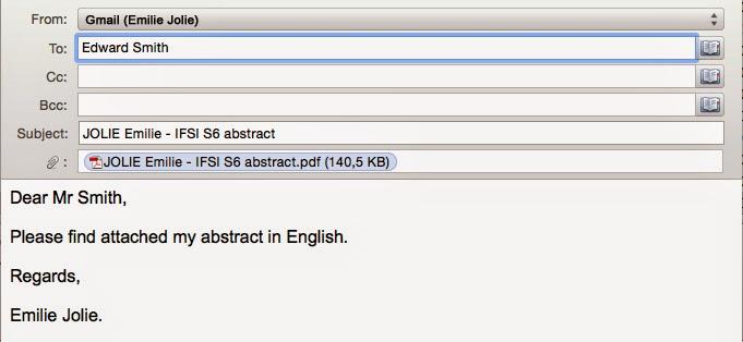 Blog : anglais IFSI: Communiquer en anglais par email (3 ...