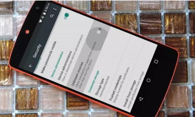 Cara Mengaktifkan Unknown Sources di Android dan Mematikannya