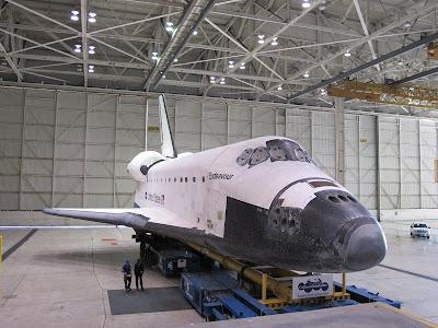 space shuttle endeavour dimensions - photo #8