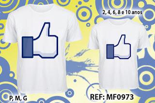 Tal Pai Tal Filho Camisetas Personalizadas Curtiu Facebook
