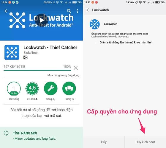 [Share] Cách xác định vị trí và hình ảnh kẻ trộm điện thoại