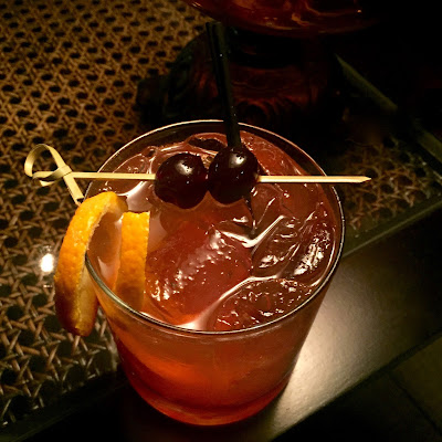 The Elder-Fashioned at Lock & Key Whiskey Bar in Baton Rouge