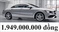 Giá xe Mercedes CLA 250 4MATIC 2018