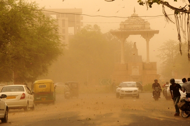 Image result for India dust storm