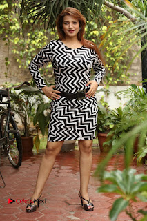 Actress Saloni Latest Pos in Short Dress  0338.JPG