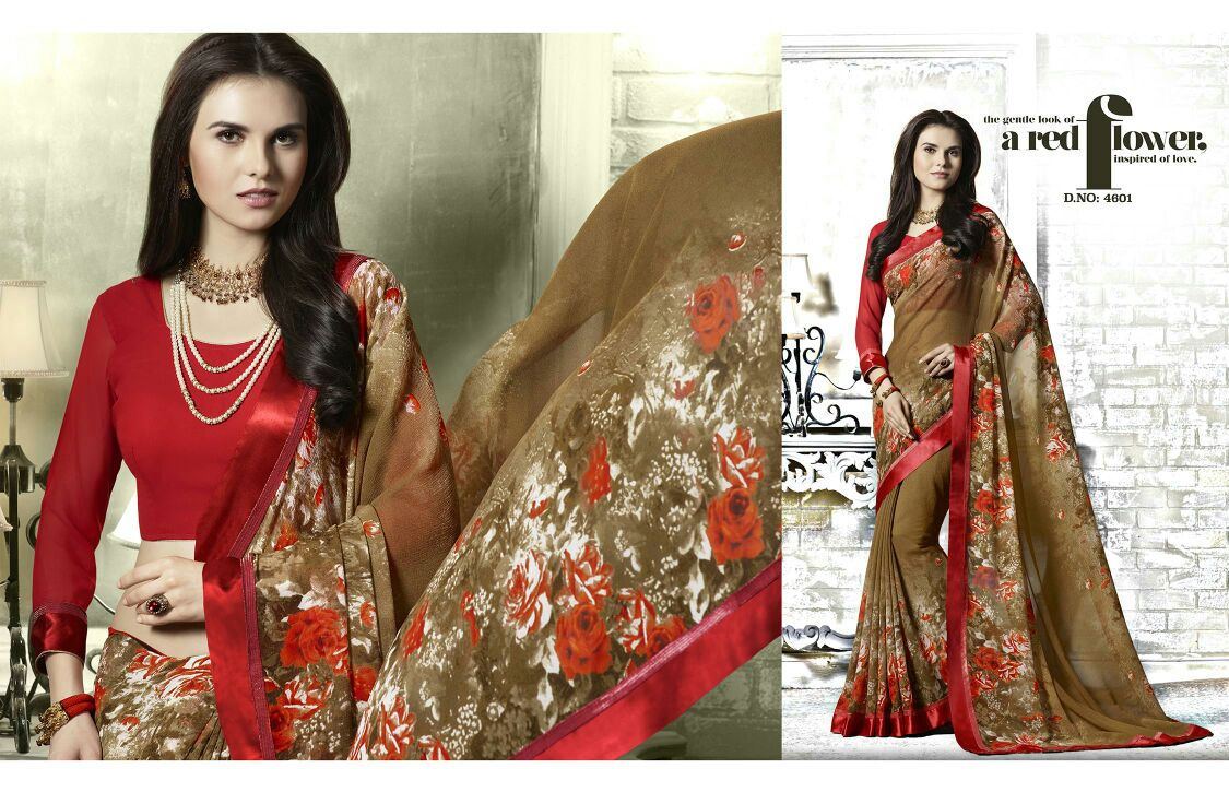 Aaditi – Exclusive Beautiful Printed Saree Wholesale