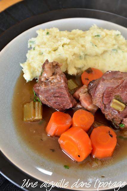 Ragoût de boeuf à la Guinness (Irish beef stew)