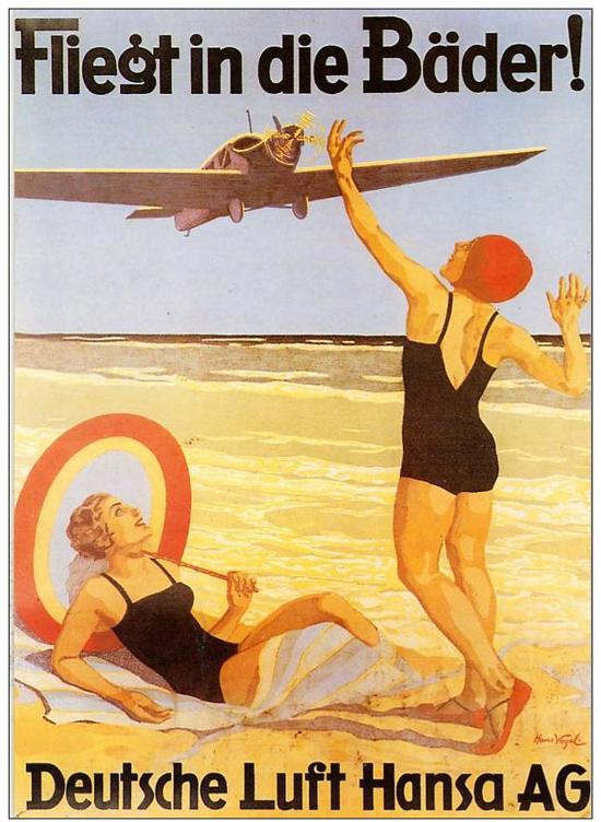 Lufthansa poster 1927