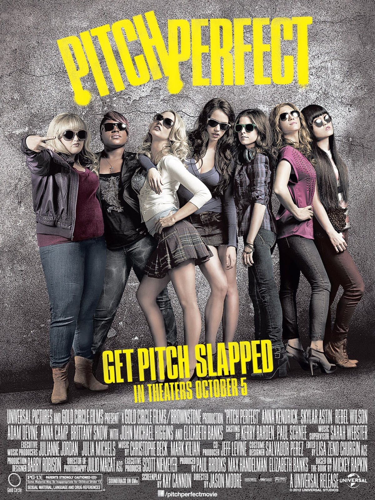 'Pitch Perfect' Soundtrack Sparks More Interest in Movie ...   Pitch Perfect 2012 Movie Poster