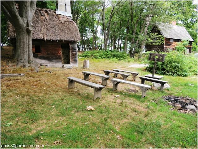 Zona de Castigo en la Pioneer Village de Salem