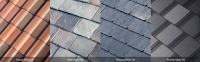 Tuscan, Slate, Textured, and Smooth Solar Tiles (Credit: Tesla) Click to Enlarge.