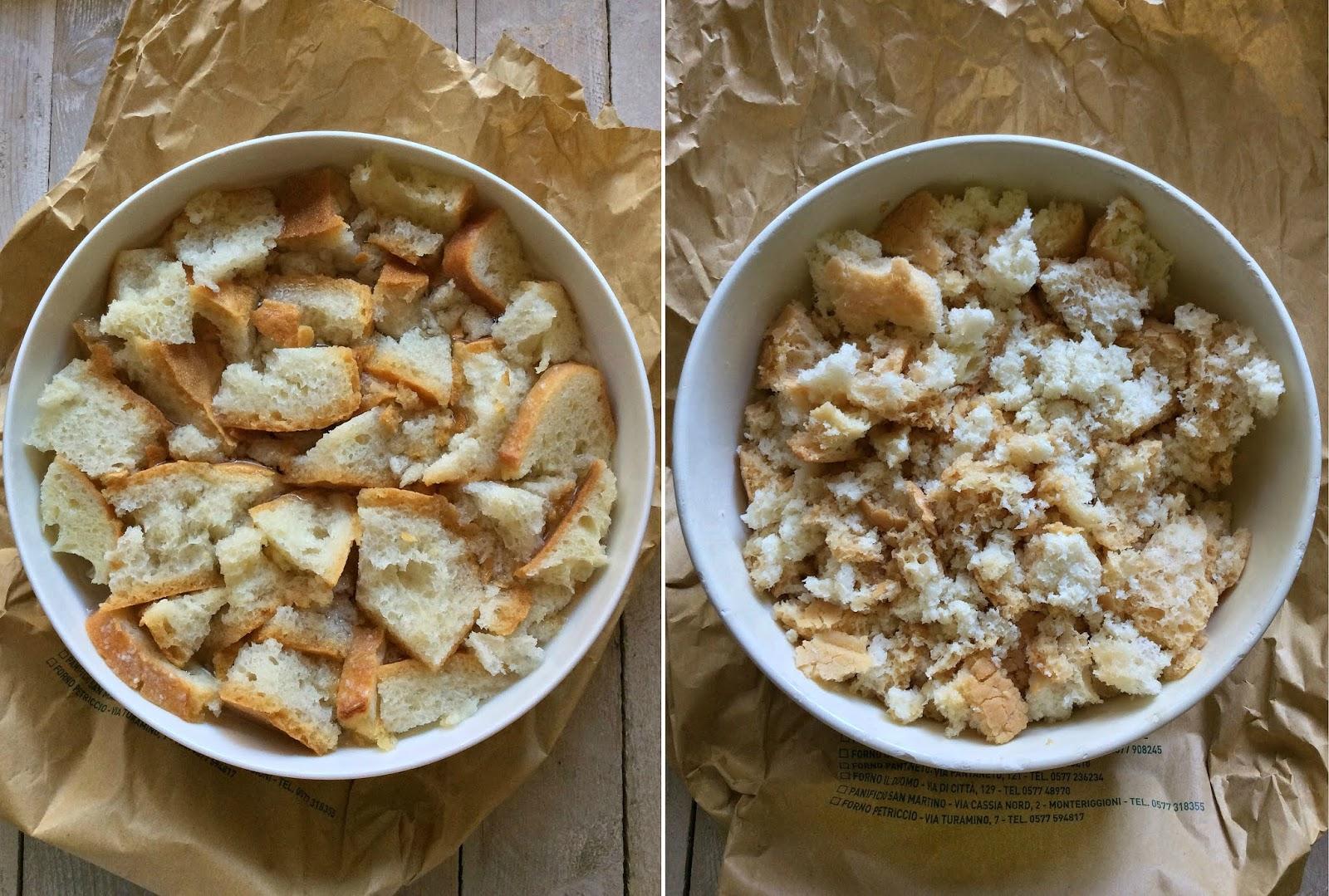 panzanella con pane toscano raffermo ricetta