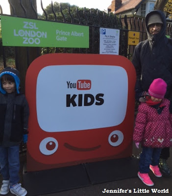 YouTube Kids launch event at London Zoo