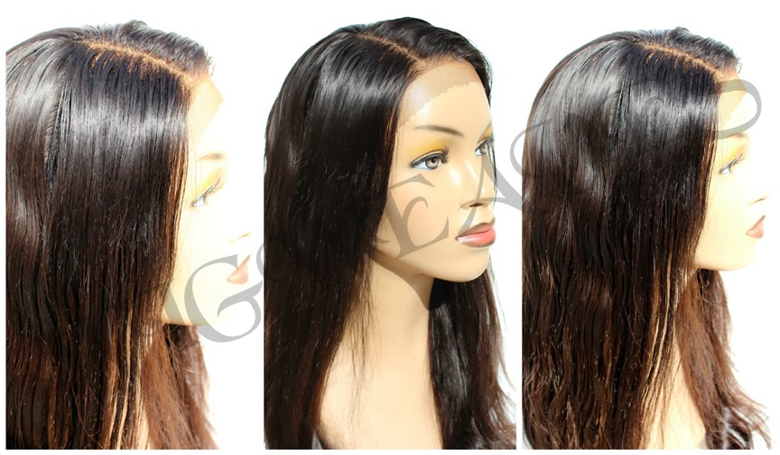 Custom Ventilation: Free Parting Lace Frontal