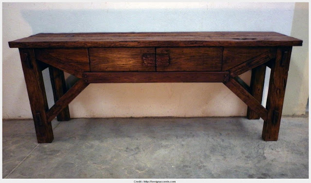 Beautiful Rustic Console Table Collection