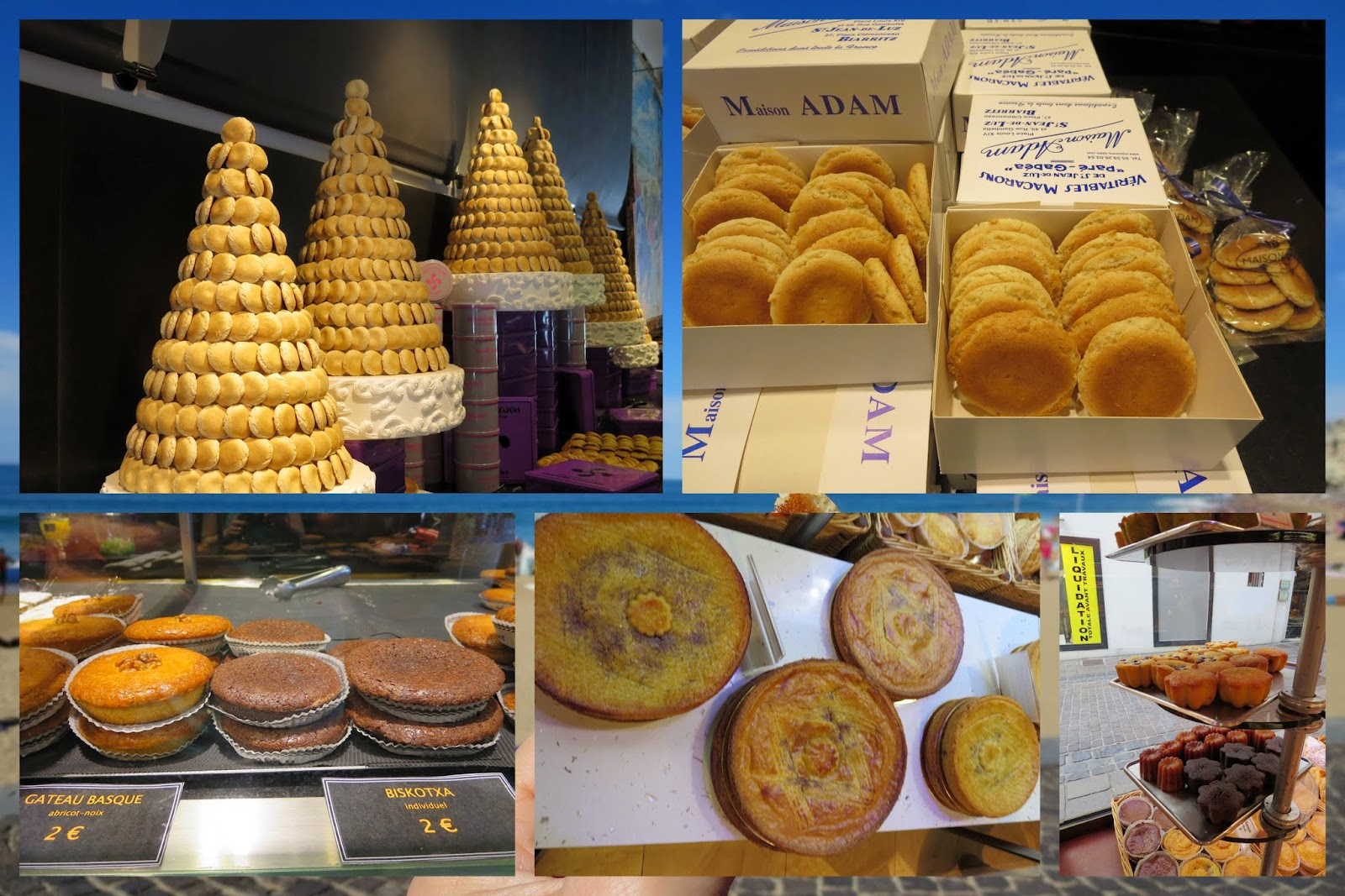 A Weekend in French Basque Country - Basque Gateau and Macaron