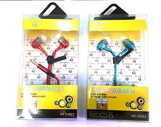 auricolari zipper con microfono
