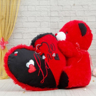 Sweet Red Teddy Bear Love Image