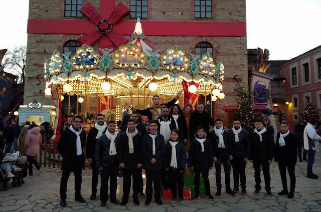 Ποντιακά κάλαντα και τραγούδια από τους μαθητές της Σχολής Εκμάθησης Ποντιακής Λύρας του Νίκου Κοτταρίδη στον «Μύλο των Ξωτικών» στα Τρίκαλα