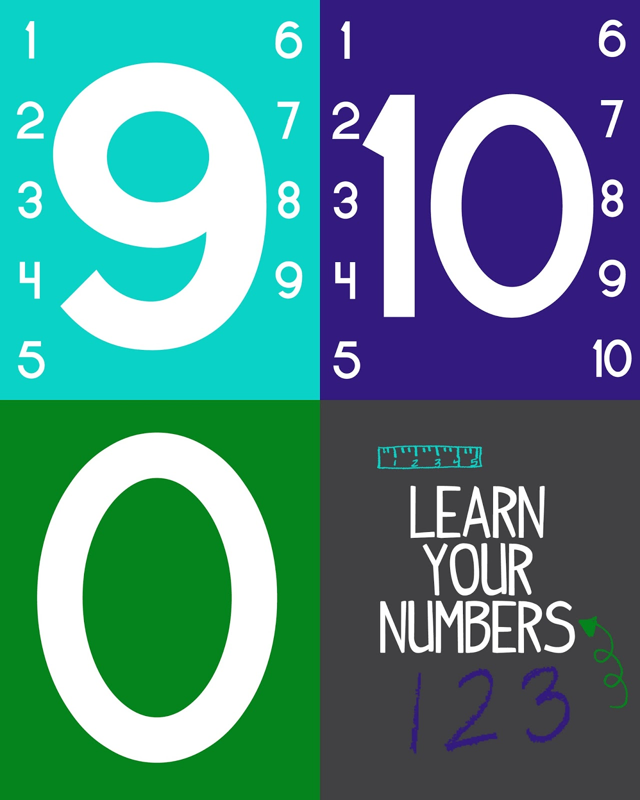 Teach Kids Numbers {Free Printable Activity} Preschool/Kindergarten ...