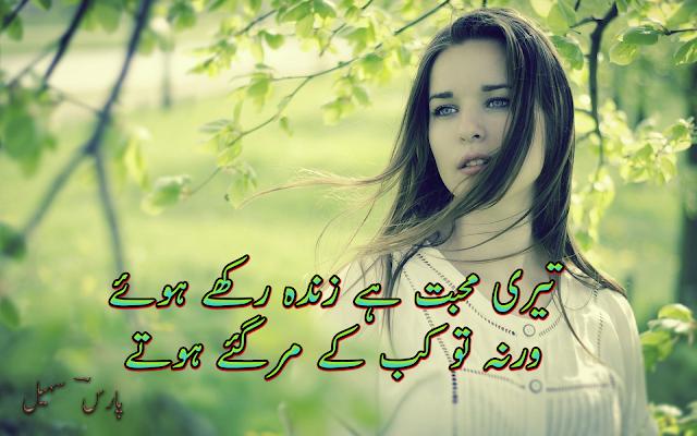 Teri Mohabbat Hai Zinda Rakhe Huye