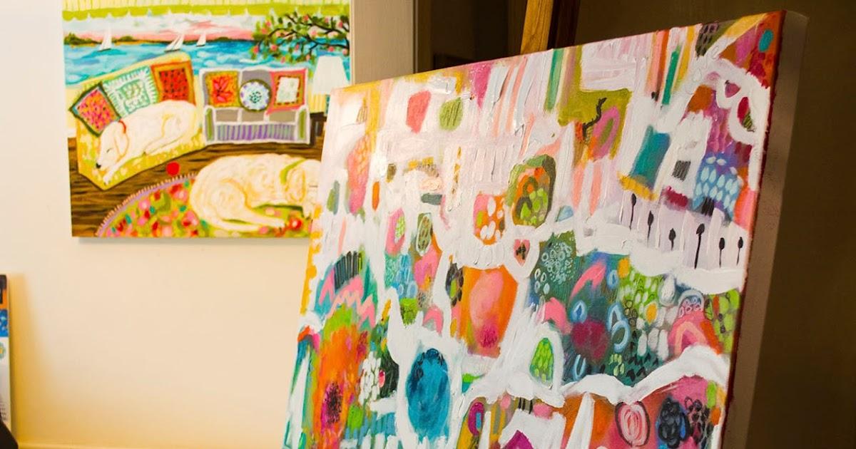 My Creative Life New Painting MARINA PARK