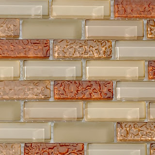 Crystile Series Glass Mosaic Blend Tiles