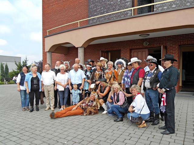 Czyste Country w Wolsztynie 2014, kościół, ludzie