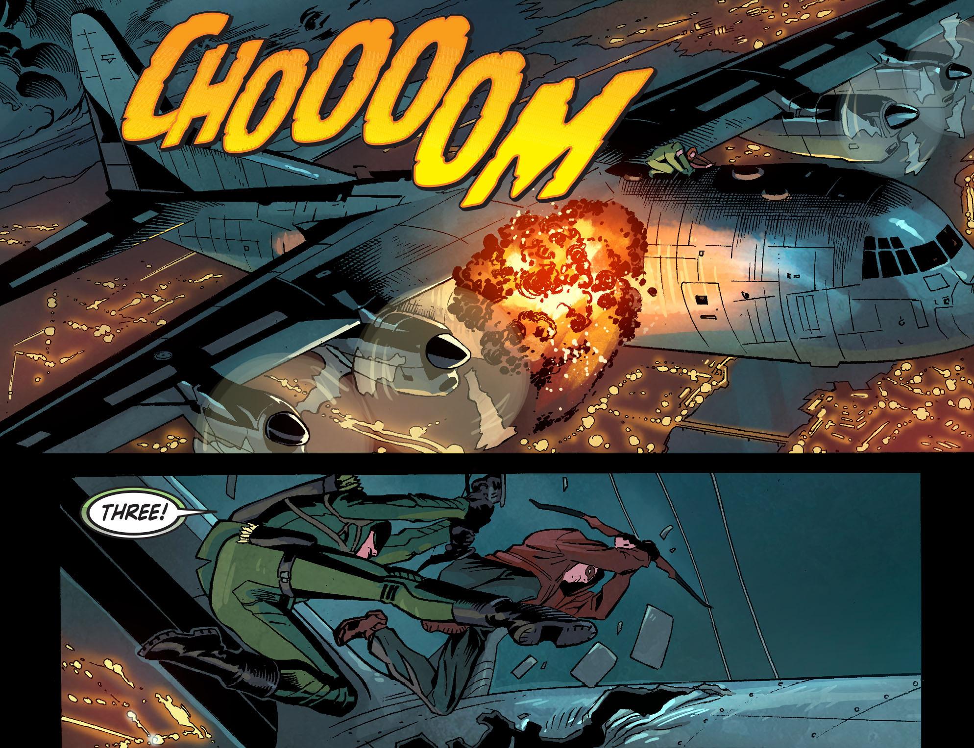 Read online Arrow: Season 2.5 [I] comic -  Issue #1 - 12